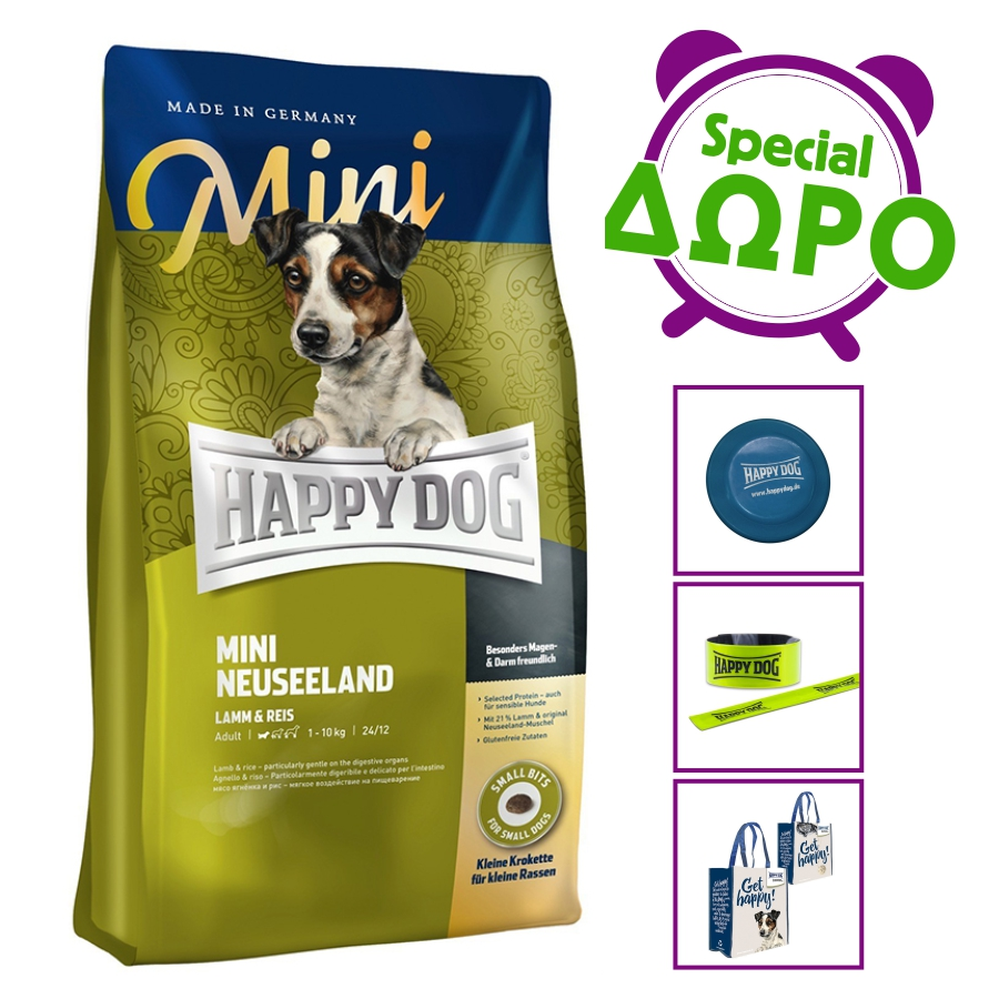happy dog mini neuseeland 4kg. Black Bedroom Furniture Sets. Home Design Ideas
